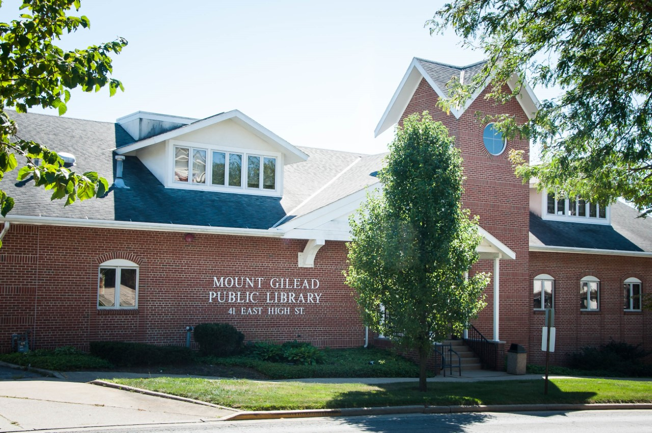 Photo of the Mount Gilead Public Library